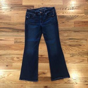Denim - American Eagle size 12 short super Stretch jeans